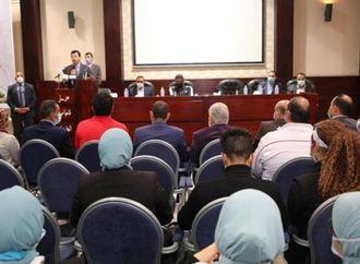الدكتور أشرف صبحى يدعو الشباب للابتعاد عن التعصب الكروي