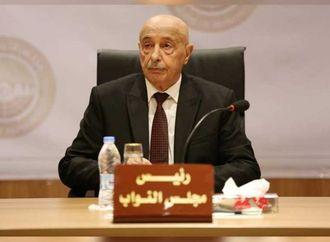 عقيلة صالح: روسيا تلعب دورا مهما فى حل الأزمة الليبية