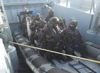 تمرين عسكري بحري تونسي أمريكي في سواحل ولاية بنزرت