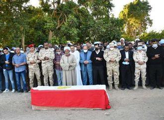 محافظ أسوان ينعي شهيد الواجب الوطنى «أحمد جمال»