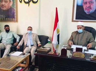 رئيس منطقة البحر الأحمر الأزهرية يوجه بتشكيل قوافل لمتابعة انتظام العملية التعليمية