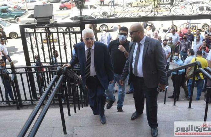 مرتضى منصور يغيب عن جلسة الطعن ضد قرار الأوليمبية.. وإحالة الدعوى للمفوضين