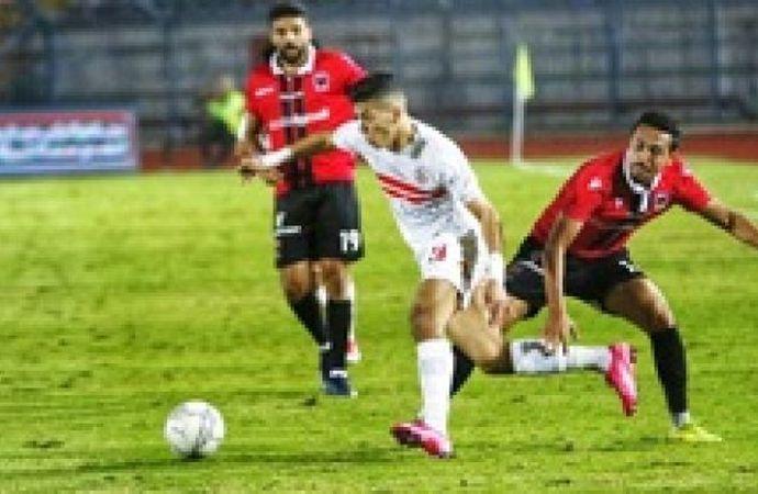 عقوبة مغلظة في انتظار إمام عاشور بعد طرده  في مباراة الزمالك ونادي مصر