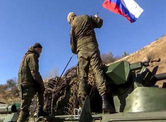 انفجار لغم يصيب ضابطا روسيا و4 من قوات السلام بكاراباخ